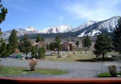 Sunrise Mammoth Condo Rental #3: Pet Friendly / WIFI Internet Access / Scenic Meadow Area: Near Mammoth Creek & The Snowcreek Golf Course