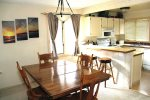 Mammoth Lakes Vacation Rental Sunrise 12 - Kitchen is Open to the Dining Room