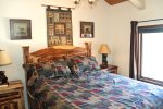 Mammoth Vacation Rental Sunrise 29 - Master Bedroom with a Queen Bed