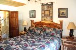 Mammoth Vacation Rental Sunrise 29 - Master Bedroom with a Queen Bed and walk in closet