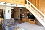 Mammoth Lakes Condo Rental Sunrise 29 - Large Flat Screen TV in Living Room
