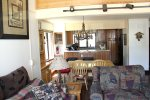 Mammoth Lakes Rental Sunrise 29 - Dining Room and Upgraded Kitchen