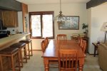Mammoth Condo Rental Sunrise 35 - Dining Room