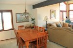 Mammoth Condo Rental Sunrise 35 -Dining Room to Living Room