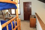 Mammoth Condo Rental Sunrise 35 - Loft Area with Large Closet