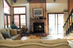Mammoth Lakes Condo Rental Sunrise 35 - Living Room