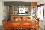 Mammoth Vacation Rental Sunrise 35 - Dining Room to Kitchen