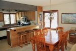 Mammoth Lakes Vacation Rental Sunrise 35 - Nice Dining Room Table Seats 6 and more at the Bar