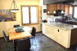 Mammoth Lakes Condo Rental Sunrise 43 - Dining and Bar Area