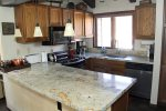 Mammoth Lakes Condo Rental Sunrise 43 - Fully Equipped Kitchecn with Granite Counters and Stainless Steel Appliances