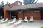Sunrise Common Area BBQ and Common Area Restrooms at the Pool Area