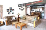 Mammoth Lakes Rental Sunrise 46 - Comfortable Living Room has a Queen Sofa Bed