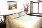 Mammoth Lakes Condo Rental Sunrise 46 - Master Bedroom with 1 King Bed