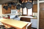 Mammoth Lakes Vacation Rental Sunrise 47 - Fully Equipped Kitchen with Newer Appliances