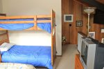 Mammoth Lakes Rental Sunrise 47 - Loft with a Queen Bed and a Bunk Bed