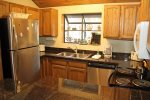 Mammoth Lakes Condo Rental Woodlands 48 - Nice Fully Equipped Kitchen
