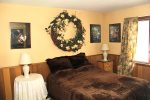 Mammoth Rental Woodlands 48- Spacious Master Bedroom with Queen Bed