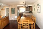 Mammoth Lakes Condo Rental Woodlands 28 - Dining off Kitchen