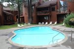 Pool Area - Woodlands Mammoth Lakes Rentals