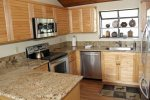 Mammoth Vacation Rental Woodlands 31 - Upgraded Kitchen with Granite and Stainless Steel Appliances