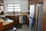 Mammoth Lakes Vacation Rental Snowflower 5 - Master Bedroom Private Bath and Large Flat Screen TV