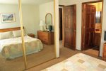 Mammoth Condo Rental Snowflower 11- Second Bedroom with Queen Size Bed