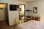 Mammoth Condo Rental Snowflower 37 - Comfortable Master Bedroom with a Queen Size Bed