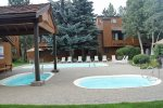 Mammoth Vacation Rental Snowflower 45 - Pool Area