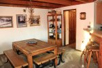 Mammoth Vacation Rental Snowflower 45 - Dining Area