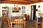 Mammoth Vacation Rental Snowflower 53 - Dining Table Seats Six and Kitchen Counter Seats 2