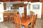 Mammoth Lakes Condo Rental Snowflower 82 - Living Room towards the Dining Room