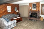 Mammoth Lakes Condo Rental Wildflower 67 - Comfortable Living Room with Queen Sofa Bed