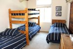 Mammoth Condo Rental Wildflower 50 - 3rd Bedroom with 2 Twins and 2 Bunk Beds
