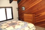 Mammoth Rental Widlflower 18 - Master Bedroom with a window