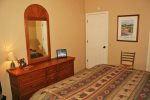 Mammoth Lakes Condo Rental Wildflower 36 - Loft Bunk Bed and Flat Screen TV