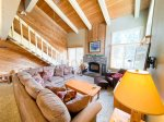 Mammoth Lakes Vacation Rental Wildflower 36 - Dining Area off Living Room