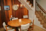 Mammoth Condo Rental Chamanix 16 - Dining Area with Seating for Five