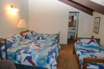 Mammoth Lakes Vacation Rental Chamonix 16 - Loft - 1 Queen Bed and 2 Twin Beds