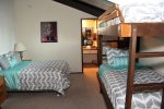 Mammoth Lakes Vacation Rental Chamonix 28 -  Loft - 1 Queen and 1 Set of Bunk Beds