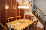 Mammoth Rental Chamonix 40 - Beautiful Dining Area with Seating for Six