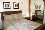 Mammoth Rental Chamonix 40 - Comfortable Master Bedroom with 1 Queen Bed arge Closet