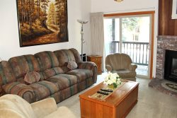 Mammoth Condo Rental Chamonix 40 - Living Room