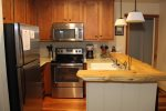 Mammoth Vacation Rental Chamonix 60 - Upgraded Kitchen with Granite and Stainless Steel Appliances