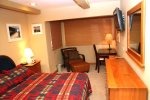 Mammoth Rental Chamonix 95 -  Master Bedroom has a Sitting Reading Area