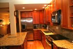 Mammoth Rental Chamonix 95 - Upgraded Kitchen with Granite and Stainless Steel Appliances