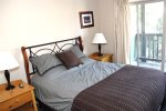 Mammoth Vacation Rental Chamonix 99 - Master Bedroom with Comfortable Queen Bed