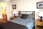Mammoth Lakes Vacation Rental Chamonix 99 - 1st Floor Master Bedroom with Queen Bed and Private Bath