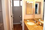 Mammoth Vacation Rental Chamonix 99 - 1st Floor Upgraded Bath with Granite