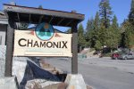 Chamonix Entrance Sign and Office Area