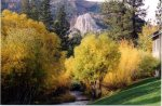 Mammoth Vacation Rental Snowcreek 628 - Creek and View of Mammoth Rock Right Outside Your Front Door